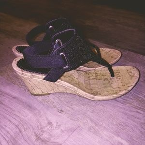 Croft and Barrow wedge sandals